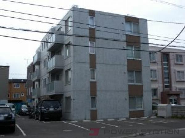 札幌市東区北25条東18丁目1賃貸マンション外観写真