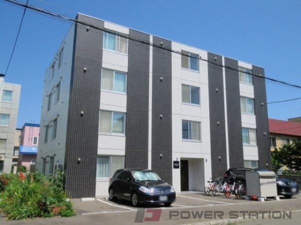 札幌市東区北19条東17丁目1賃貸マンション外観写真