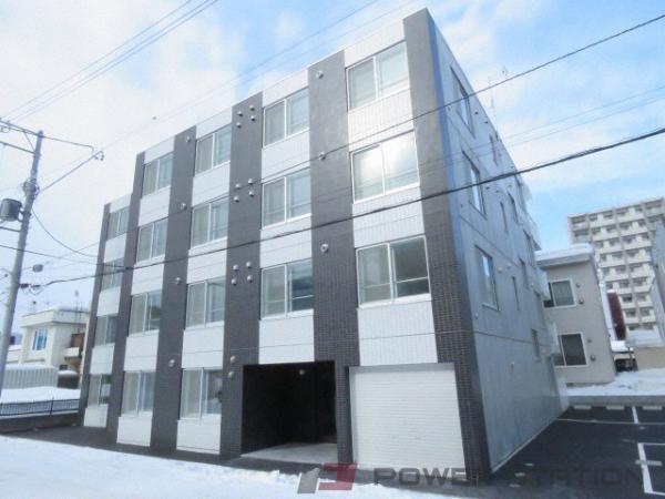 札幌市東区北25条東14丁目1賃貸マンション外観写真