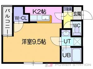 札幌市東区北30条東16丁目0賃貸マンション