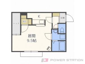 札幌市東区北30条東16丁目0賃貸マンション間取図面