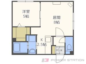 札幌市東区北38条東17丁目1賃貸マンション