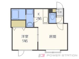 札幌市東区本町1条4丁目01賃貸アパート間取図面