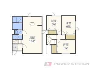 札幌市東区北8条東18丁目01賃貸アパート間取図面