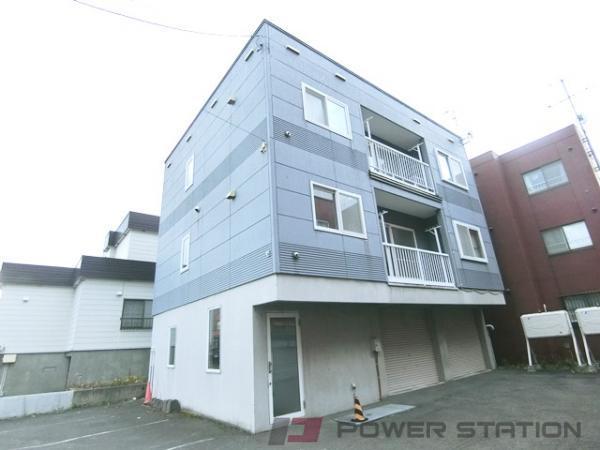 札幌市東区北46条東8丁目0賃貸アパート外観写真