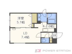札幌市東区北31条東12丁目1賃貸マンション