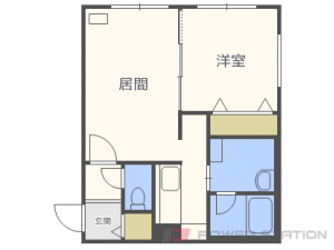 札幌市東区北9条東14丁目11賃貸マンション間取図面