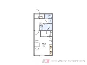 札幌市手稲区前田8条19丁目0賃貸アパート間取図面