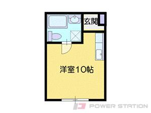 手稲1Rマンション図面