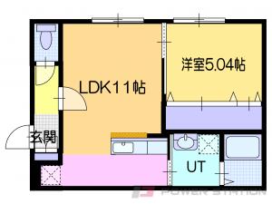 ほしみ1LDKアパート図面