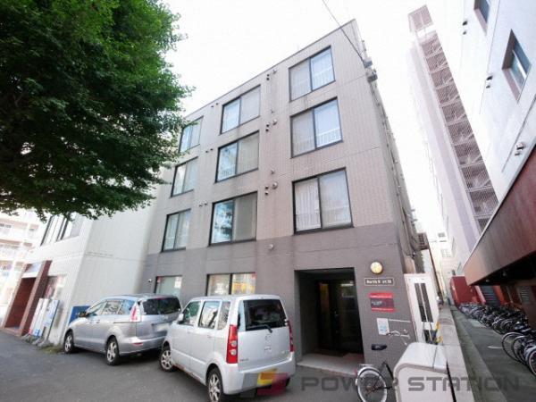 札幌1DKマンション外観