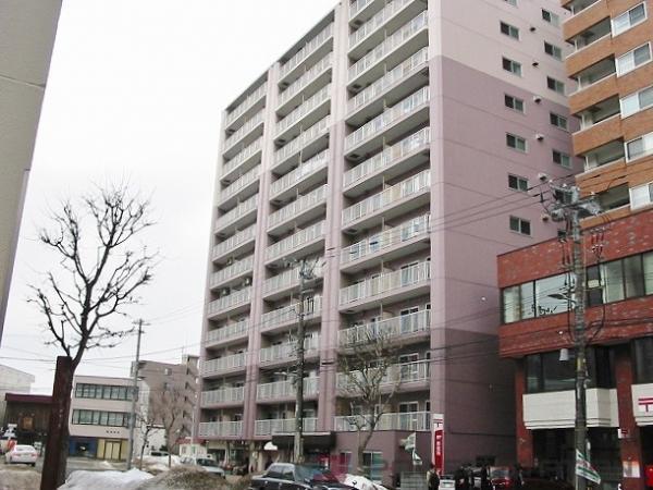 札幌3LDK分譲リースマンション外観