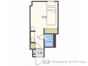 札幌市北区北8条西6丁目0分譲リースマンション間取図面