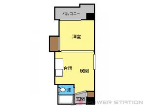 札幌市北区北8条西6丁目0賃貸マンション間取図面