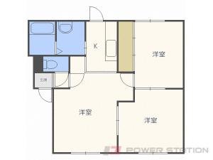 新川2LDKアパート図面