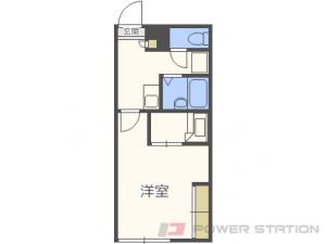札幌市北区拓北4条1丁目0賃貸アパート間取図面