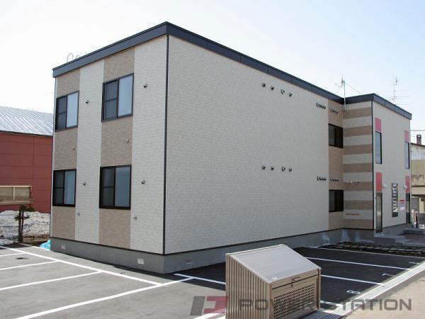 札幌市北区拓北4条3丁目0賃貸アパート外観写真