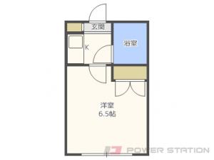 札幌市北区北14条西3丁目0賃貸マンション間取図面