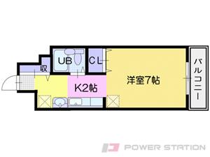札幌市北区北19条西4丁目0分譲リースマンション間取図面
