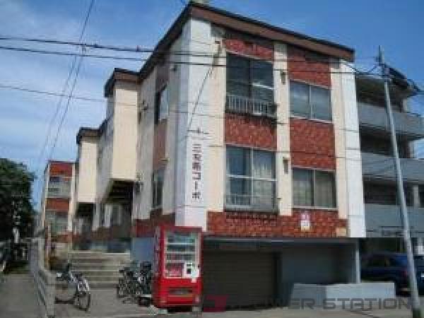 札幌市北区北20条西2丁目0賃貸アパート外観写真