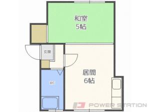 札幌市北区北20条西2丁目0賃貸アパート間取図面
