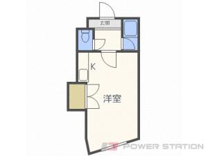 札幌市北区北22条西2丁目0賃貸マンション間取図面