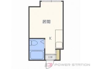 札幌市北区北25条西4丁目0賃貸マンション間取図面