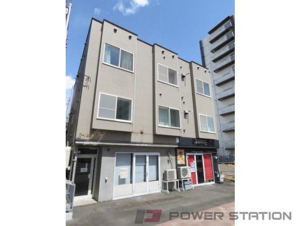 札幌市北区北24条西2丁目0賃貸アパート外観写真
