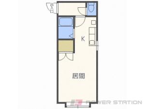 札幌市北区北24条西2丁目0賃貸アパート間取図面