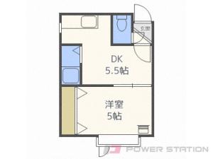 札幌市北区北28条西11丁目0賃貸アパート間取図面