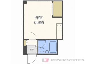 札幌市北区北28条西12丁目0賃貸アパート間取図面