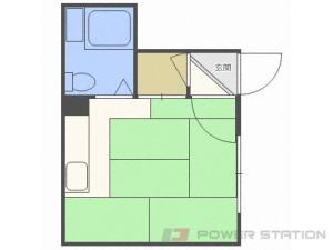 北34条1Rアパート図面
