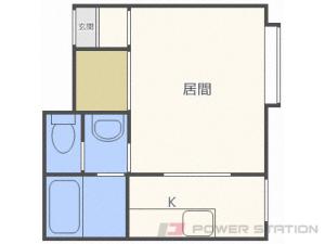 アパート・パステル新川