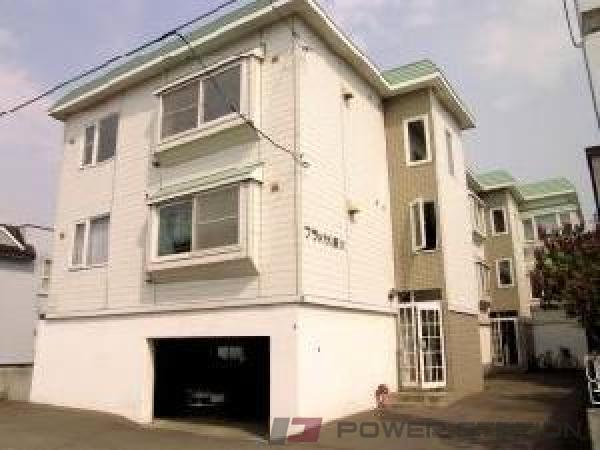 新川2LDKアパート外観