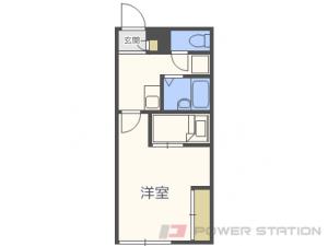 札幌市北区篠路8条4丁目0賃貸アパート間取図面