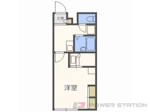 札幌市北区拓北5条2丁目0賃貸アパート間取図面