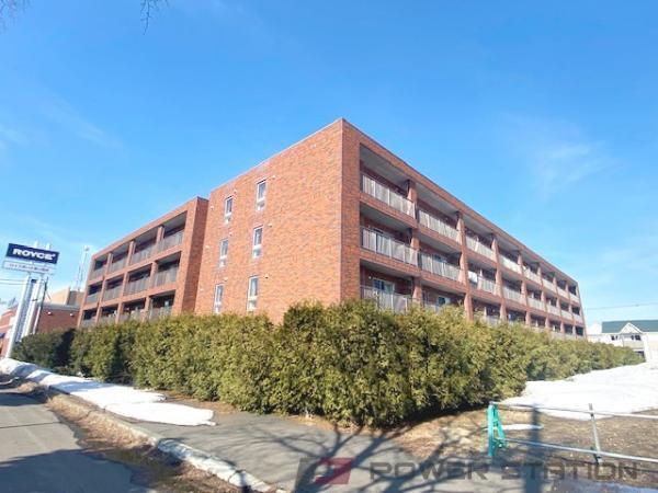 札幌市北区あいの里3条9丁目0賃貸マンション外観写真