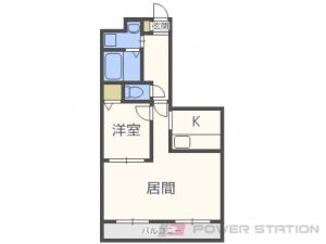 札幌市北区あいの里3条9丁目0賃貸マンション間取図面
