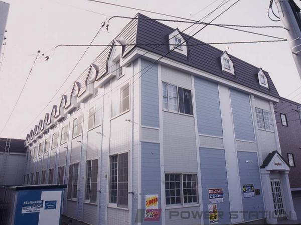 澄川1Kアパート外観