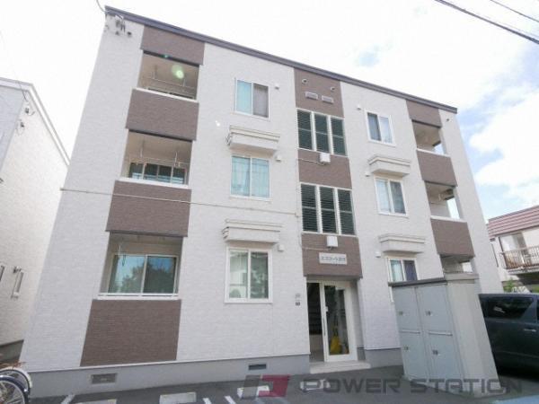 澄川1LDKアパート外観