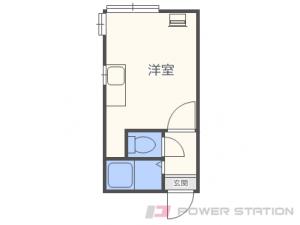 札幌市南区澄川2条4丁目1賃貸アパート間取図面
