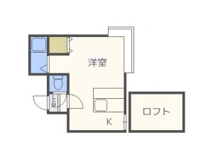 札幌市西区二十四軒4条7丁目1賃貸マンション間取図面
