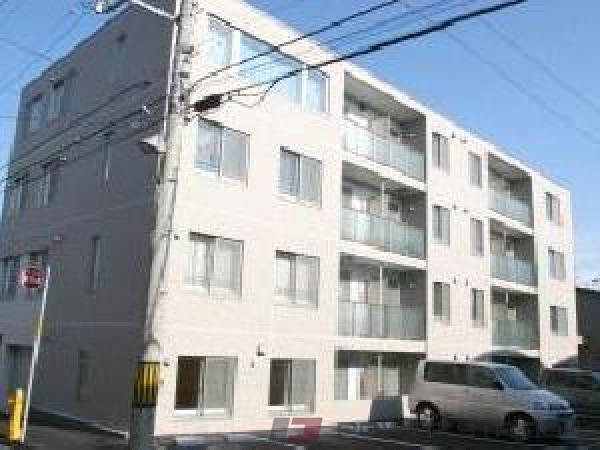 札幌市西区発寒3条4丁目0賃貸マンション外観写真