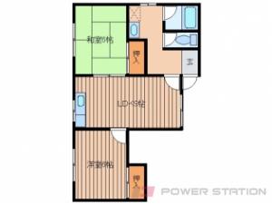 札幌市西区宮の沢1条5丁目0賃貸マンション間取図面