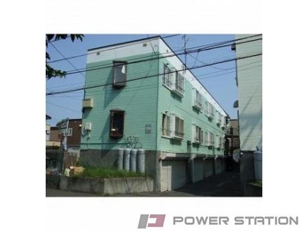 札幌市西区二十四軒4条4丁目0賃貸アパート外観写真