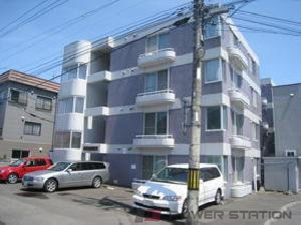 札幌市西区八軒3条東3丁目1賃貸マンション外観写真