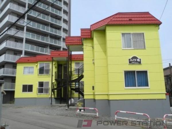 札幌市西区発寒1条4丁目0賃貸アパート外観写真