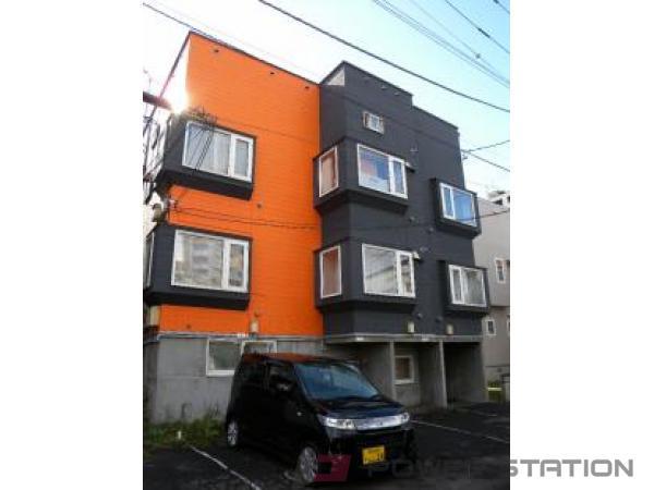 札幌市西区琴似3条5丁目0賃貸アパート外観写真