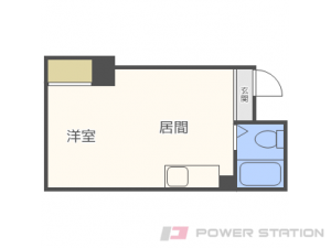 札幌市西区二十四軒4条3丁目0賃貸アパート間取図面