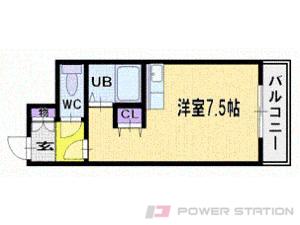 北広島1Rマンション図面